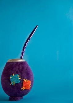 MATECITOS ABRIGADOS -tejidos a crochet-, $100 en http://ofeliafeliz.com.ar