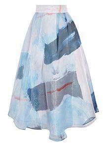 View product Coast Makarni Printed Maxi Skirt