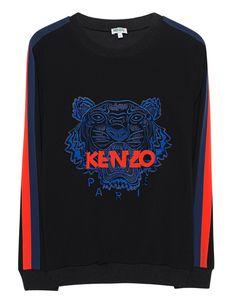KENZO Fron Label Black
