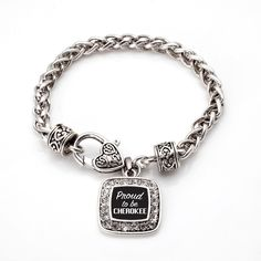 Proud To Be Cherokee Classic Braided Bracelet
