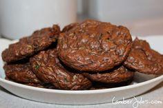 IP Chocolate Zucchini Cookies Plated