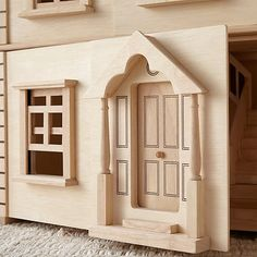 If you're looking for the dollhouse of your dreams, look no further. Because our Victorian Dollhouse is like no other playtime abode you've ever seen. Cardboard Dollhouse, Dollhouse Toys, Dollhouse Ideas, Modern Dollhouse, Victorian Dollhouse Furniture, Making Wooden Toys, Doll House Crafts, Modern Toys, Plan Toys