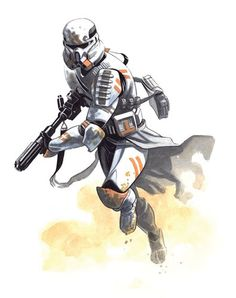 Clone Star Wars - Star Wars Clones - Ideas of Star Wars Clones - Clone Star Wars Hq Star Wars, Star Wars The Old, Star Wars Rpg, Star Wars Clone Wars, Star Wars Pictures, Star Wars Images, Star Wars Zeichnungen, Star Wars Drawings, Star Wars Personajes