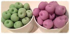 Fresh apple & warm vanilla custard and Autumn berry brûlée scented wax melts