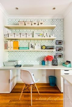 A house full of sunshine: Home office makeover reveal!