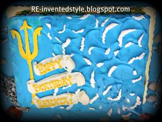 RE-invented style: RE-ceiving Guests: Percy Jackson Birthday Party Girls 9th Birthday, Gymnastics Birthday, 28th Birthday, Birthday Parties, Birthday Cakes, Birthday Ideas, Percy Jackson Cake, Percy Jackson Birthday, Party Activities