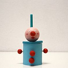 Handmade toy from recycled materials