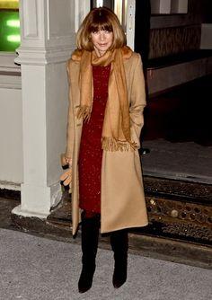 Anna Wintour - always chic ~