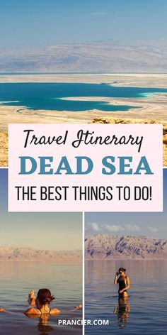 Among the most popular things to do in Jordan is Floating in the Dead Sea. You'll find tons of places to stay along the Dead Sea, all of which offer an amazing experience and unforgettable memories! New Travel, Asia Travel, Italy Travel, Travel Usa, Travel Guides, Travel Tips, Travel Hacks, Places To Travel, Travel Destinations