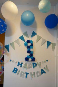 1歳の誕生日の飾り付けまとめ。思い出に残る記念日にしよう   iemo[イエモ]