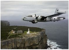 A89-273 Lockheed P-2B Neptune RAAF Point Perpendicular, Jervis Bay, New South Wales, Australia.