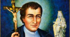 Saint April 28 St. Louis de Montfort - Established #TrueDevotion to Mary