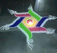 Simple Rangoli Designs for Diwali More