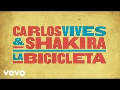 Carlos Vives, Shakira - La Bicicleta (Cover Audio) - YouTube