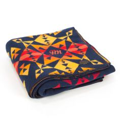 JM x Pendleton Four Winds Blanket. For a limited time, receive any one item from the Store for free with Purchase.