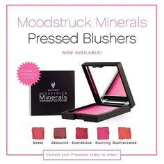 sublimeyounique.com New mineral Pressed Blushers /nouveaux fards à jour poudre minérale pressée. À commander dès aujourd'hui sublimeyounique.com