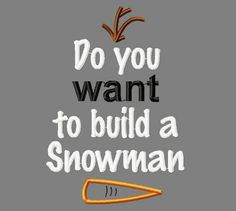 Do you want to build a snowman applique embroidery design, Christmas