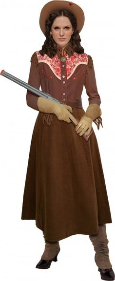 There are lots of awesome easy costume tutorials here, but I'm pinning Annie Oakley for my Western Steampunk costume.