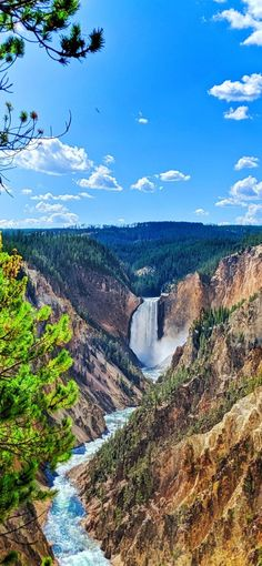 Grand Canyon National Park, National Parks, Slc, Yellowstone National Park, Holiday Destinations, Waterfalls, Gouache, Rivers, Trip Planning