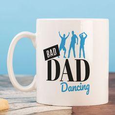 Personalised Mug - Bad Dad Dancing | GettingPersonal.co.uk