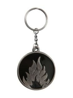Hot Topic merch <3 Divergent Dauntless Metal Key Chain $6.38 from http://www.hottopic.com/hottopic/PopCulture/Movies/Divergent.jsp
