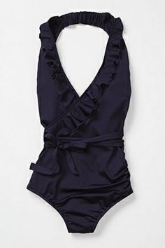 Discover new one-piece swimsuits at Anthropologie. Shop one piece bathing suits from brands like Seafolly, Solid & Striped and more. Fashion Mode, Look Fashion, Womens Fashion, Fashion Shoes, Girl Fashion, Mein Style, The Bikini, Halter Bikini, One Piece Swimwear