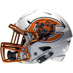Chicago Bears Concept Helmet