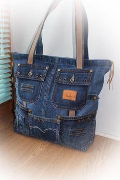 Denium purse