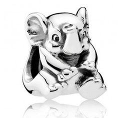 Pandora Oriental Bloom Lucky Elephant Sterling Silver Charm 791902