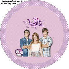 Violetta: 34 diferentes etiquetas para imprimir gratis.
