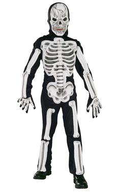 The Full Eva Skeleton Costume is the best 2019 Halloween costume for you to get! Everyone will love this Boys costume that you picked up from Wholesale Halloween Costumes!