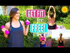 Get Fit for the Girl on a Budget! 4 Free Ways to Workout Cambria Joy, Budgeting, Health Fitness, Weight Loss, Exercise, Workout, Motivation, Youtube, Free