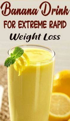 One of the best ways to lose weight fast is by consuming smoothies. Here is a powerful banana smoothie recipe to lose weight fast at home. Weight Loss Meals, Weight Loss Drinks, Weight Loss Smoothies, Healthy Smoothies, Healthy Drinks, Smoothie Recipes, Healthy Recipes, Weight Gain, Detox Recipes