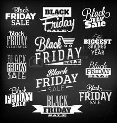 Black Friday kalligraphischentwürfe Retro Style Elements Vintage-Ornamente Sale, Ausverkauf Vector Set Stockfoto