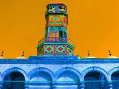 Muhammad 'Ali Mosque or Alabaster Mosque. Cairo Egypt, Muhammad Ali, Mosque, Pisa, Tower, Colorful, Building, Travel, Rook