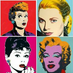 Hollywood Glamour... Timeless beauty. via Andy Warhol
