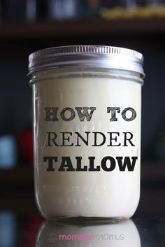 to Render Tallow (Plus 4 Ways To Use It) A step-by-step guide on how to render tallow for your soapmaking recipes.A step-by-step guide on how to render tallow for your soapmaking recipes. Soap Making Recipes, Soap Recipes, Canning Recipes, Making Food, Paleo Recipes, Tallow Recipe, Lard Recipe, Beef Tallow, Survival Food