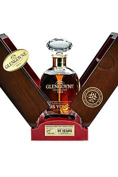 Our new exclusive 35 Year Old Highland Malt Whisky was Distilled in the 1970's and 35 years in the making. This rich malt is golden in colour with tropical fruit intensity and a liquorice and dark chocolate finish. Purchase online now at- http://www.glengoyne.com/our-whisky/bottle/glengoyne-35-year-old-highland-single-malt-whisky