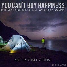 Camping inspiration.