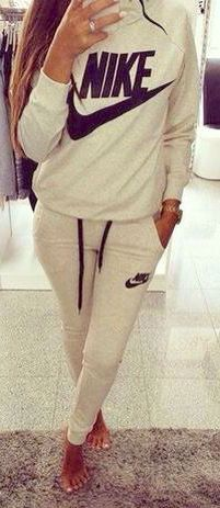 Nike sweat outfit.