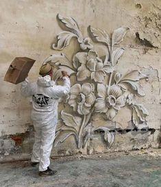 50 grafitis increíbles con ilusiones 3D por Scaf - Marcianos