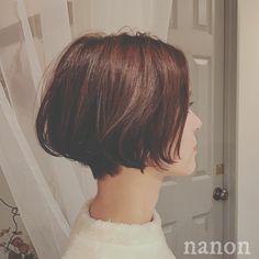 nanon style バレンタインデーヘア Girl Short Hair, Short Hair Cuts, Short Hair Styles, Hairstyles With Bangs, Pixie Hairstyles, Cool Hairstyles, Asian Bob Haircut, Hair Essentials, French Hair