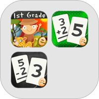 First Grade Math Core Standards Educational Games, Place Value, Word Problems Bundle par Eggroll Games LLC 7.99$