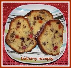 Bábovka s kandovaným ovocem a ořechy | Babčiny recepty Croissant, French Toast, Breakfast, Food, Cakes, Morning Coffee, Crescent Roll, Essen, Cake