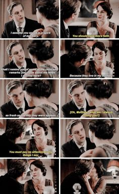 Mary and Matthew Crawley ♕♡--Downton Abbey