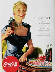 Vintage Coke/ Coca-Cola Advertisements of the 1950s (Page 6)