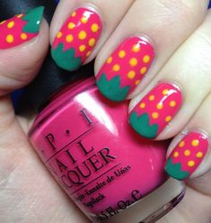 33 Fruity Nail Art Design Examples