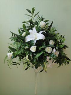 Martini vase of Sia Flowers