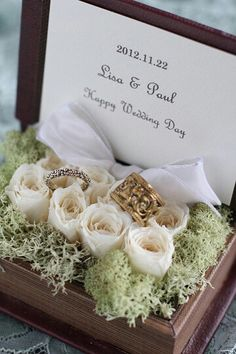 25 Ideas For Wedding Rings Flower Pillow Wedding Boxes, Wedding Favors, Diy Wedding, Rustic Wedding, Wedding Gifts, Wedding Decorations, Ring Bearer Pillows, Ring Pillows, Wedding Pillows