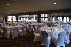 Glen Oaks, Slate Roof, English Style, Chair Covers, Banquet, Wedding Ideas, Table Decorations, Design, Home Decor